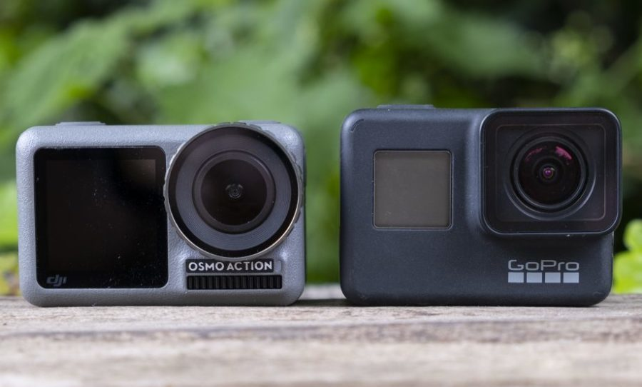 Vergelijking tussen GoPro Hero 7 en DJI Osmo Action