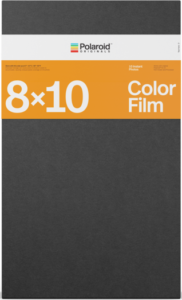 Polaroid film 8x10 kleur verpakking