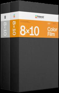 Polaroid zwart wit film 8x10 dubbel pack productfoto