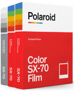 SX-70 film fotopapier triple pack