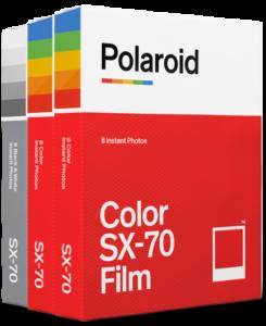 SX-70 film fotopapier triple pack