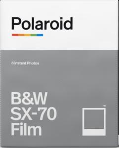 SX-70 film fotopapier zwart wit